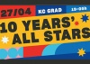 Rodjendanski program 10 godina! @KC Grad!